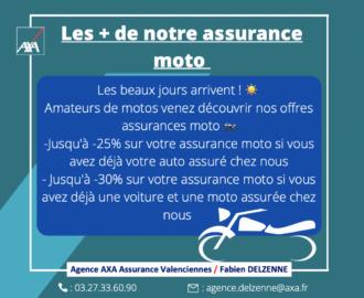Assurance moto AXA Fabien DELZENNE