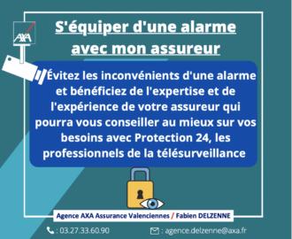Télésurveillance assurance AXA Valenciennes Fabien Delzenne